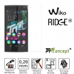 Wiko Ridge 4G - Vitre de Protection Crystal - TM Concept®
