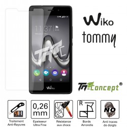Wiko Tommy - Vitre de Protection Crystal - TM Concept®