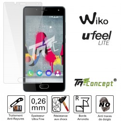 Wiko U Feel Lite - Vitre de Protection Crystal - TM Concept®
