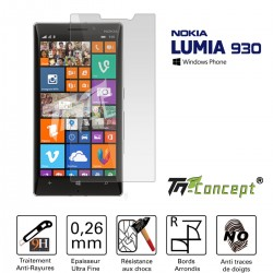 Nokia Lumia 930 - Vitre de Protection Crystal - TM Concept®