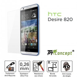 HTC Desire 820 - Vitre de Protection Crystal - TM Concept®