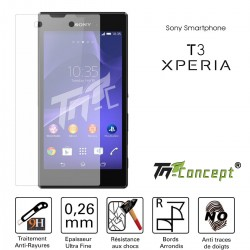 Sony Xperia T3 - Vitre de Protection Crystal - TM Concept®