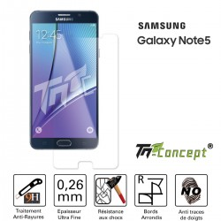 Samsung Galaxy Note 5 - Vitre de Protection Crystal - TM Concept®