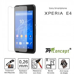 Sony Xperia E4 - Vitre de Protection Crystal - TM Concept®