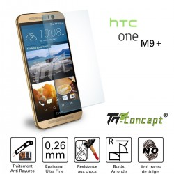 HTC One M9 Plus - Vitre de Protection Crystal - TM Concept®