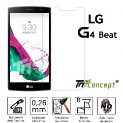 LG G4 Beat - Vitre de Protection Crystal - TM Concept®