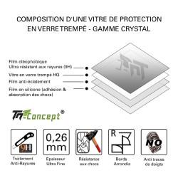 LG G4 Beat - Vitre de Protection Crystal - TM Concept®