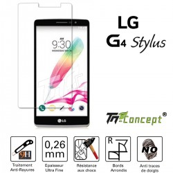 LG G4 Stylus - Vitre de Protection Crystal - TM Concept®