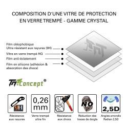LG G4 Stylus - Vitre de Protection Crystal - TM Concept®
