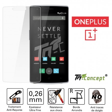OnePlus One - Vitre de Protection Crystal - TM Concept®