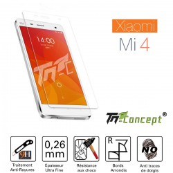 XiaoMi Mi 4 - Vitre de Protection Crystal - TM Concept®