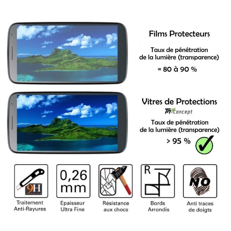 Asus Zenfone Selfie - Vitre de Protection Crystal - TM Concept®