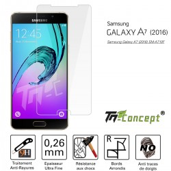 Samsung Galaxy A7 (2016) - Vitre de Protection Crystal - TM Concept®