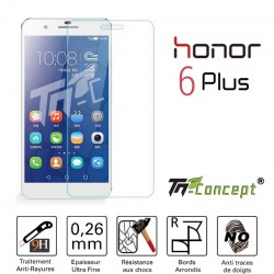 Huawei Honor 6 Plus - Vitre de Protection Crystal - TM Concept®