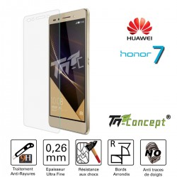 Huawei Honor 7 - Vitre de Protection Crystal - TM Concept®
