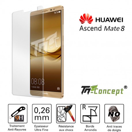 Huawei Mate 8 - Vitre de Protection Crystal - TM Concept®