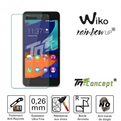 Wiko Rainbow Up - Vitre de Protection Crystal - TM Concept®