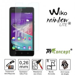 Wiko Rainbow Lite - Vitre de Protection Crystal - TM Concept®