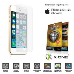 Apple Iphone 5/5S/5C - Film de Protection - X-One ® Extreme Shock Eliminator (3rd generation)