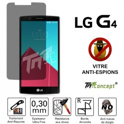 LG G4 - Vitre de Protection Anti-Espions - TM Concept®