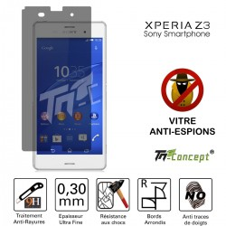 Sony Xperia Z3 - Vitre de Protection Anti-Espions - TM Concept®