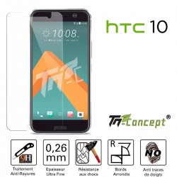 HTC 10 - Vitre de Protection Crystal - TM Concept®