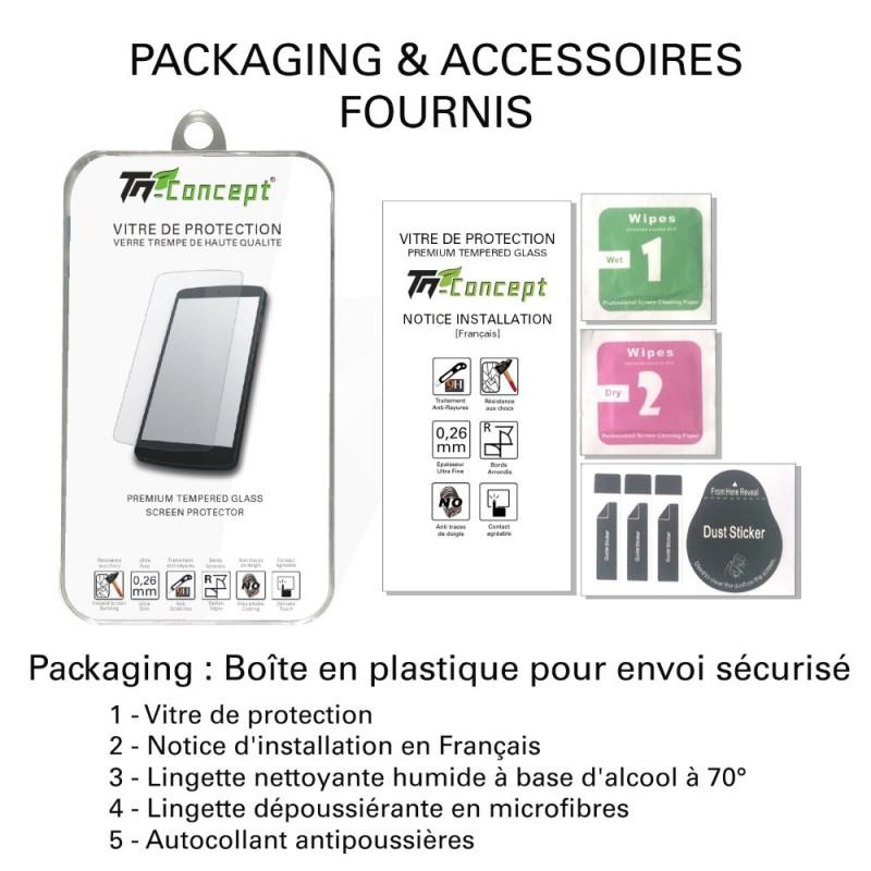 HTC 10 - Vitre de Protection Crystal - TM Concept®