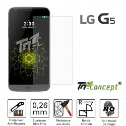 LG G5 / G5 SE - Vitre de Protection Crystal - TM Concept®
