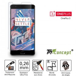 OnePlus 3 - Vitre de Protection Crystal - TM Concept®