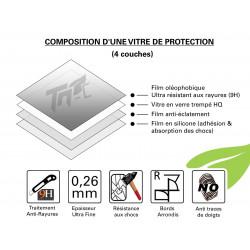 Universel - 5 Tailles - Vitre de Protection Crystal - TM Concept®