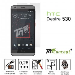HTC Desire 530 - Vitre de Protection Crystal - TM Concept®
