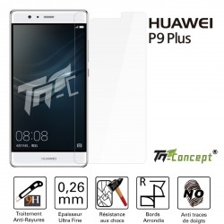 Huawei P9 Plus - Vitre de Protection Crystal - TM Concept®