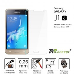 Samsung Galaxy J1 (2016) - Vitre de Protection Crystal - TM Concept®