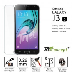 Samsung Galaxy J3 (2016) - Vitre de Protection Crystal - TM Concept®