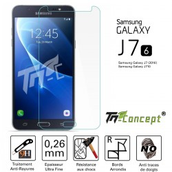 Samsung Galaxy J7 (2016) - Vitre de Protection Crystal - TM Concept®