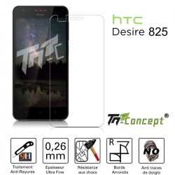 HTC Desire 825 - Vitre de Protection Crystal - TM Concept®