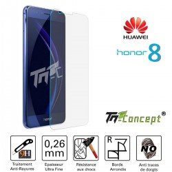 Huawei Honor 8 - Vitre de Protection Crystal - TM Concept®
