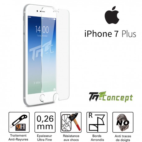 Apple Iphone 7 Plus - Vitre de Protection Crystal - TM Concept®