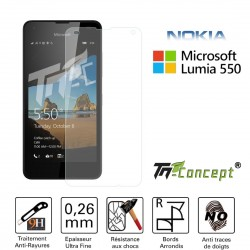 Microsoft Lumia 550 - Vitre de Protection Crystal - TM Concept®