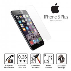 Iphone 6 Plus - Vitre de Protection Crystal - TM Concept®