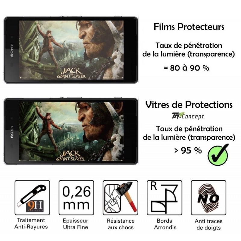 Wiko Lenny 2 - Vitre de Protection en verre trempé Crystal - TM Concept®