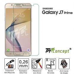 Samsung Galaxy J7 Prime - Vitre de Protection Crystal - TM Concept®
