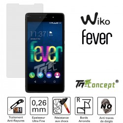 Wiko Fever - Vitre de Protection Crystal - TM Concept®