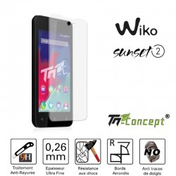 Wiko Sunset 2 - Vitre de Protection Crystal - TM Concept®