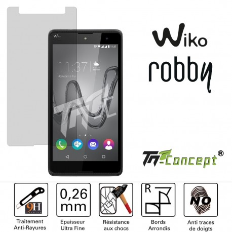 Wiko Robby - Vitre de Protection Crystal - TM Concept®