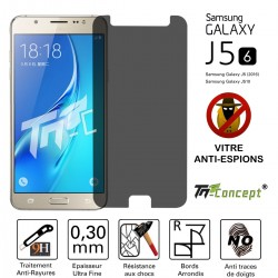 Samsung Galaxy J5 (2016) - Vitre de Protection Anti-Espions - TM Concept®
