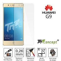 Huawei G9 - Vitre de Protection Crystal - TM Concept®