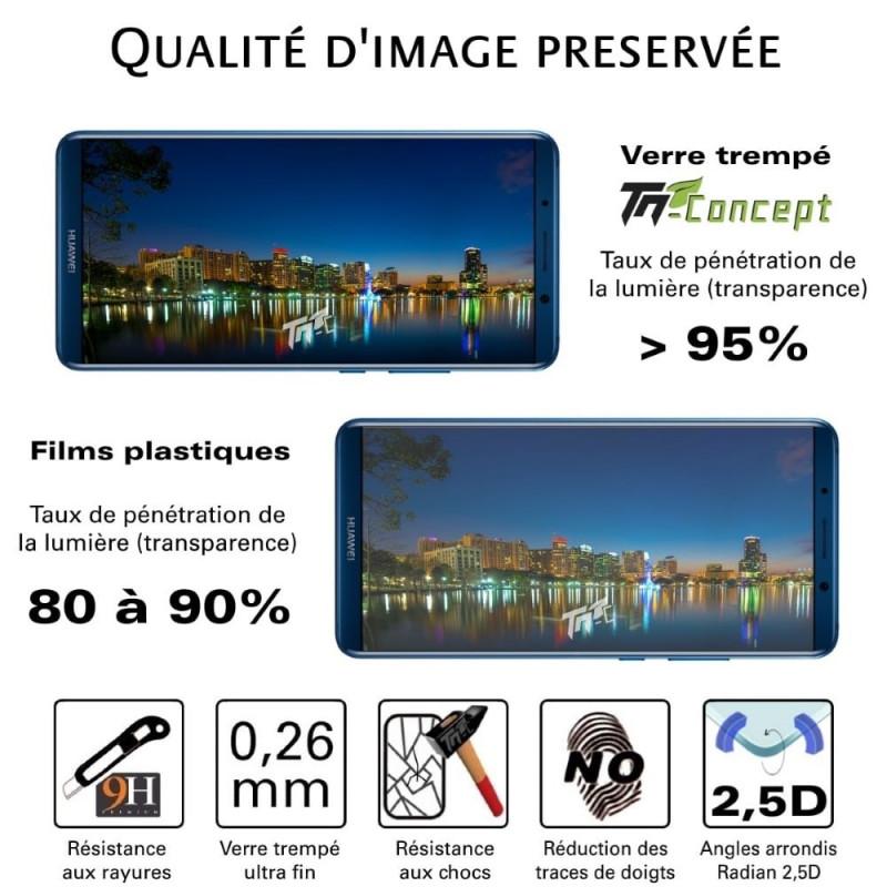 Huawei G9 - Vitre de Protection Crystal - TM Concept®