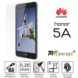 Huawei Honor 5A - Vitre de Protection Crystal - TM Concept®