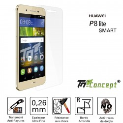 Huawei P8 Lite Smart - Vitre de Protection Crystal - TM Concept®